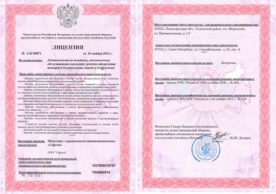 Лицензирование деятельности, получение лицензии на