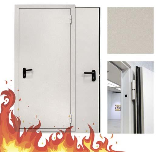 огнестойкая металлическая дверь в наличии